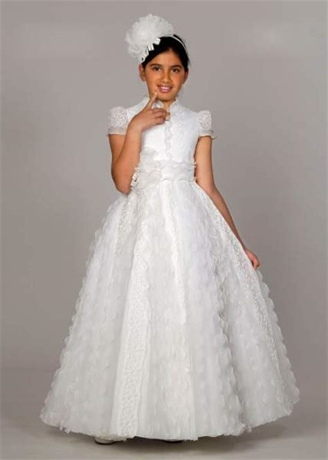 vestidos para la primera comunion vestidos de 1era comuni 243 n on pinterest rosa clara