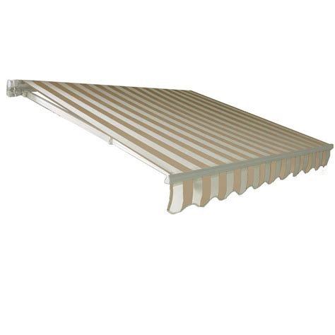 deck awnings home depot awnings in a box 6 ft classic manually retractable awning