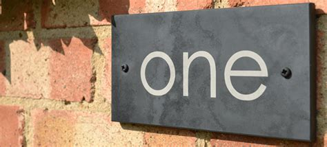 design a house sign slate house signs personalised house signs by design a house sign