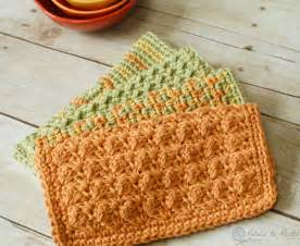 crochet dishcloths 4 quick and easy patterns petals to