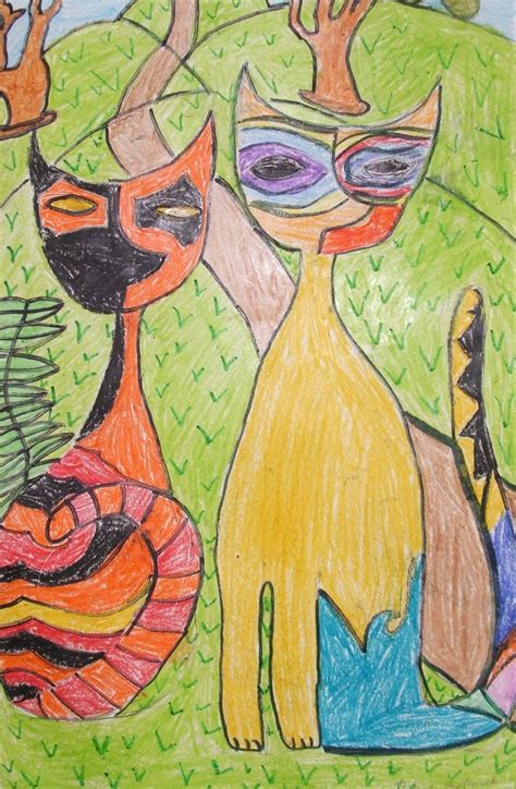 children s painting cat air balloons glitter