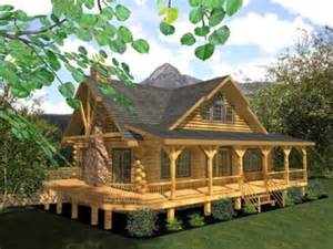 Log Cabin Plans With Wrap Around Porch by Log Homes Floor Plans From Honest Abe Eagledale 1456 Sq Ft