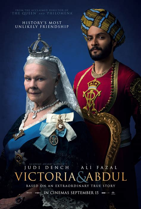 film queen and abdul victoria and abdul poster heyuguys