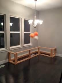 1000 images about diy breakfast nook bench on