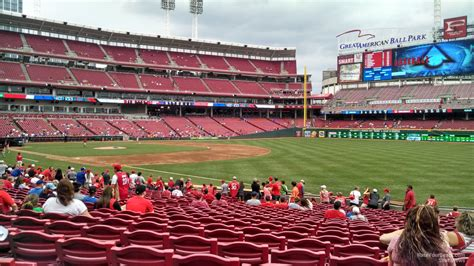 great american ballpark section 135 great american ball park section 135 cincinnati reds