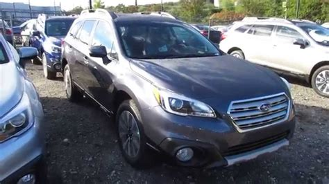grey subaru outback 2015 subaru outback carbide gray images
