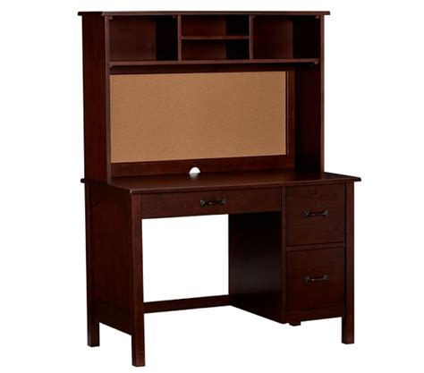Boys Desk With Hutch Kendall Desk Hutch Pottery Barn