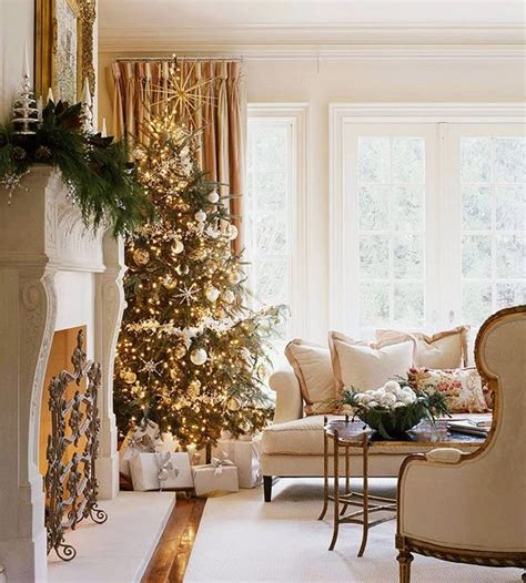 christmas decorated living rooms 55 dreamy christmas living room d 233 cor ideas digsdigs