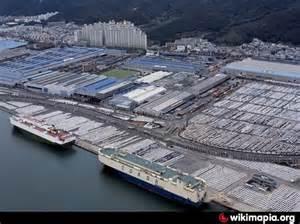Ulsan Hyundai Hyundai Motors Ulsan Ulsan Car Assembly Factory