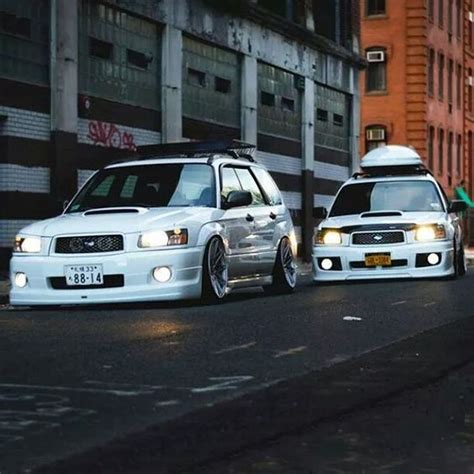subaru sti jdm hellaflush forester gang slammed stanced fitment lowered camber