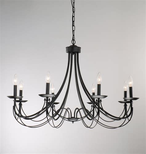 Simple Black Chandelier Wrought Iron Furniture 1920s Simple Wrought Iron Chandelier At 1stdibs White Metal Chandelier