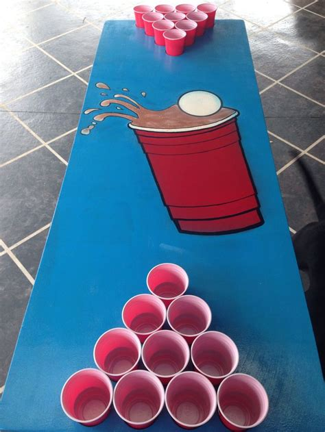 pong table design do it yourself