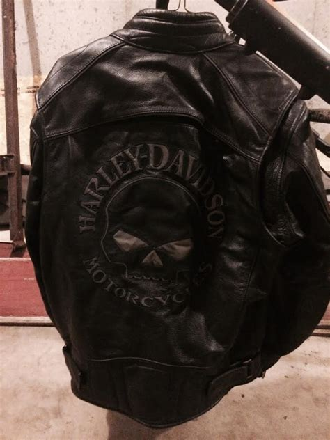 Harley Davidson Time Bry Leather harley davidson willie g skull leather jacket mens medium harley davidson forums
