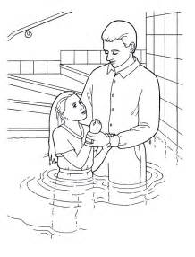 Baptism Day Primary Coloring Page Lds Ldsprimary Http//wwwlds  sketch template