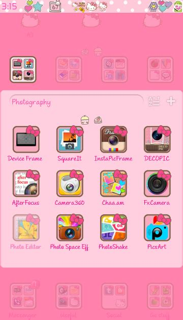 go launcher themes hello kitty apk pretty droid themes hello kitty v3 go launcher theme
