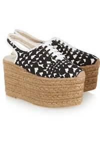 Home gt shoes gt sandals gt platforms gt printed canvas lace up platform