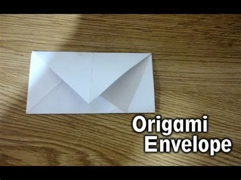 How To Make A Origami Exploding Envelope - origami lettre enveloppe senbazuru doovi