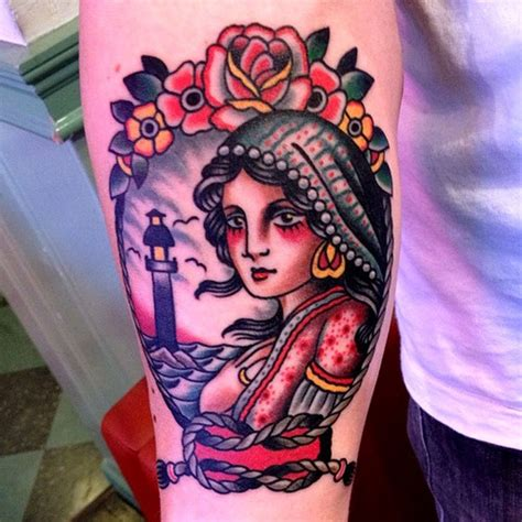american traditional gypsy tattoo 264 best images about neo traditional traditional flash