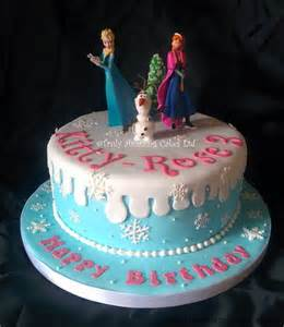 Girls frozen birthday cakes pictures to pin on pinterest