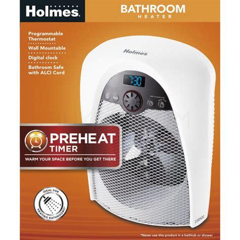 bathroom safe heater holmes bathroom safe heater hfh436wgl um ebay