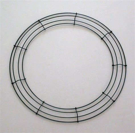 wire wreath frame 45cm wreath ring metal wreath wire 17