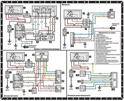 схема электропроводки мерседес 124 замена проводки своими