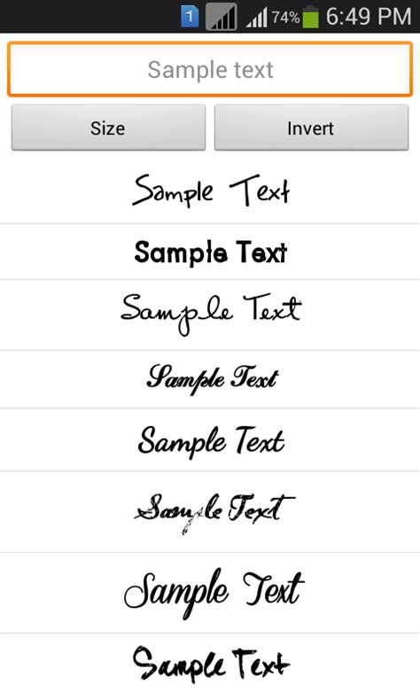 stylish fonts for android stylish fonts 2 android apps on play