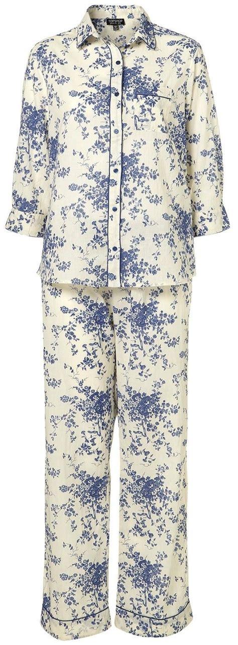 pyjamas blue royal doulton style print pyjama style pajamas and pyjamas