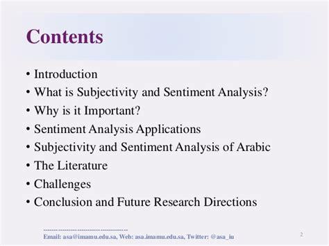 pattern sentiment analysis subjectivity subjectivity and sentiment analysis of arabic trends and