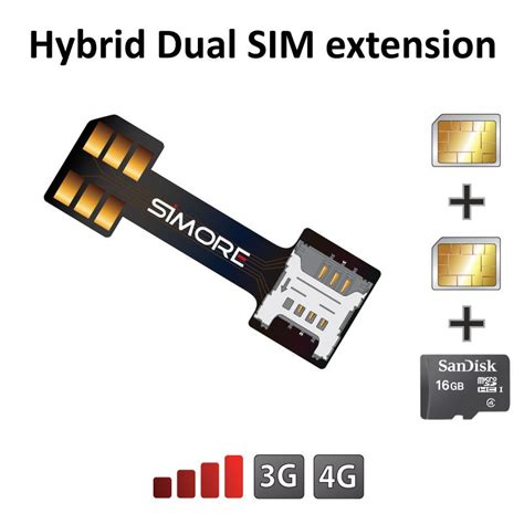 Micro Sd Sim Card Template by Sim Cards And Micro Sd Card Extension Adapter For Hybrid