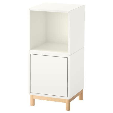 ikea eket cabinet eket cabinet combination with legs white 35x35x80 cm ikea