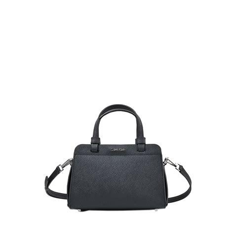 Ck Magnetic With Mini Bag calvin klein mini sofie bowling bag in black lyst