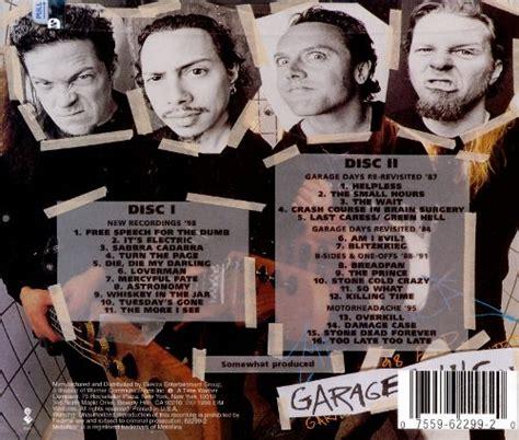 Garage Inc Garage Inc Metallica Songs Reviews Credits Allmusic