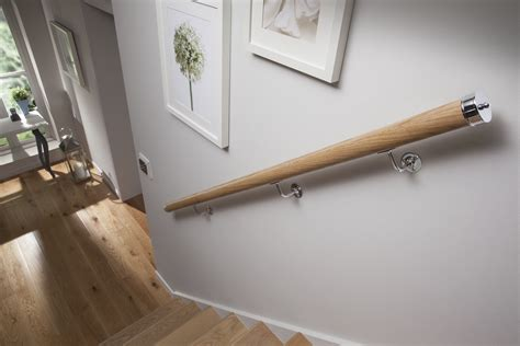 banister wall wall mounted handrail brackets blueprint joinery