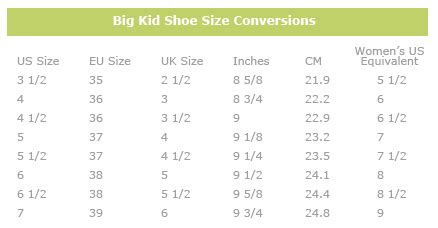 save big by buying size shoes that look and fit