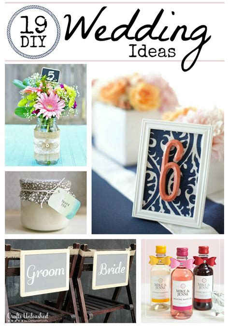 diy decorations crafts diy wedding ideas 19 wedding crafts crafts unleashed