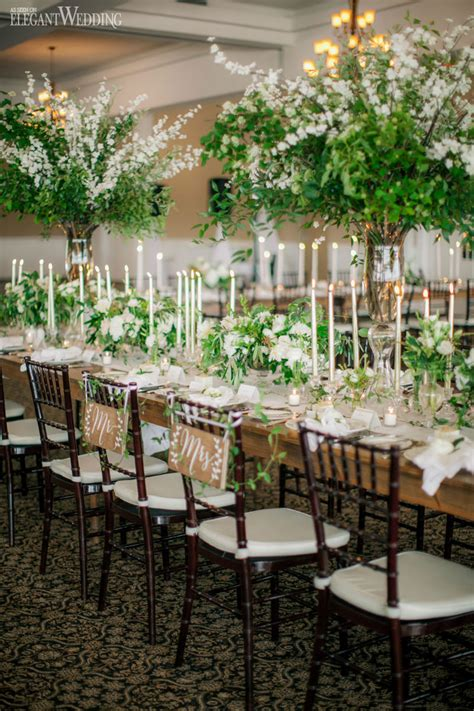 Natural & Rustic Greenery Wedding in Michigan   ElegantWedding.ca