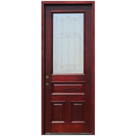 Pacific Entries 36 In X 96 In Traditional 3 4 Lite 96 Inch Exterior Doors