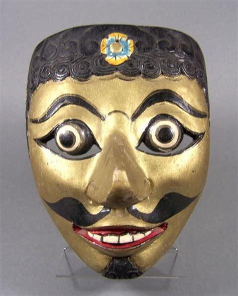 Masker Java wajang topeng masker java indonesi 235 tweede helft 20e