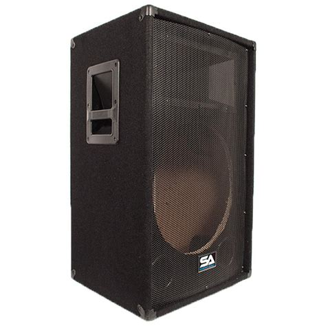 empty plastic speaker cabinets empty 15 inch pa speaker cabinet empty 15 inch dj