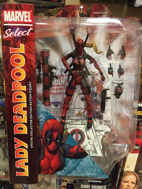 New Original Marvel Select Deadpool marvel select deadpool figure released photos marvel news