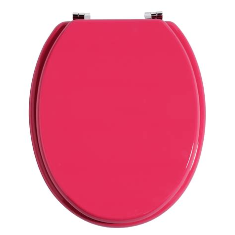 pink toilet seat uk premier pink toilet seat with zinc alloy fixings