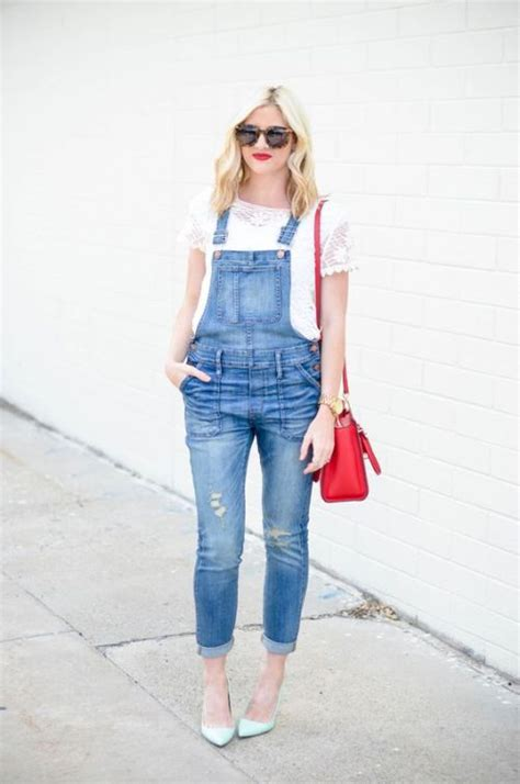 denim jumpsuits styling ideas  trendy girls