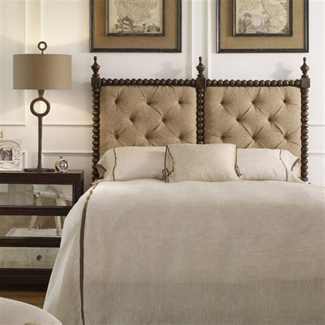 wood queen headboards iberico global bazaar tufted linen carved wood queen