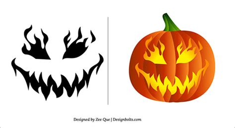 printable pumpkin stencils free scary 1000 images about pumpkin stencils on pinterest pumpkin