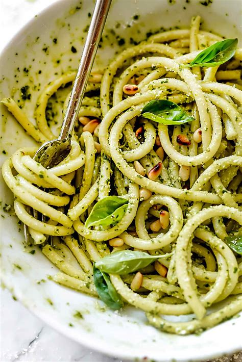 best pesto pasta recipe easy pesto pasta recipe foodiecrush