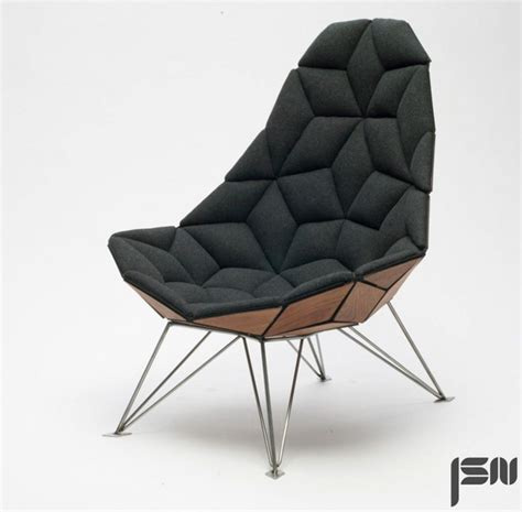 Armchair Design by Tiles Chair Furniture
