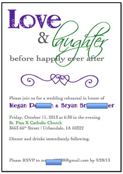 Free Template For Rehearsal Dinner Invitation Dinner Invitation Templates Free