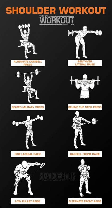 25 best ideas about shoulder workout on