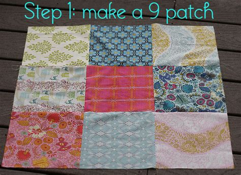Disappearing 9 Patch Baby Quilt Pattern by Quilt Story Disappearing 9 Patch Tutorial